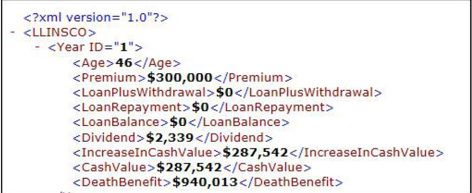 Life Insurance Data File